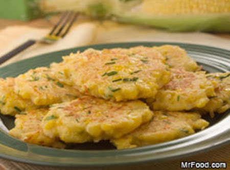Golden Fried Corn Patties Recipe
