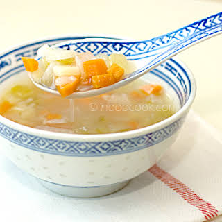 Chinese-Style Minestrone Soup.