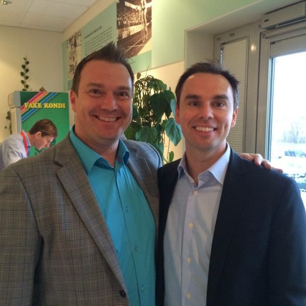 Marius Eriksen and Brendon Burchard