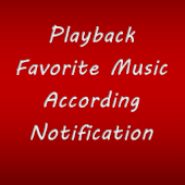 play music when notified