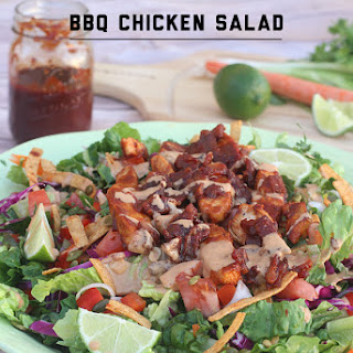 Loaded BBQ Chicken Salad.