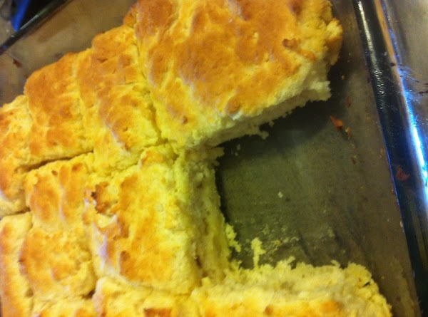 Cut sour cream into biscuit mix, add 7-Up. Makes a very soft dough. Sprinkle...