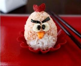 Photo: angry bird