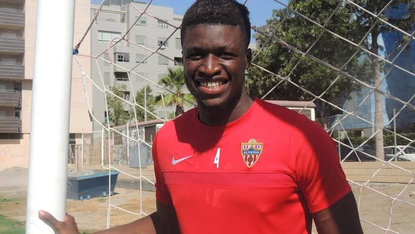 El gigante Sekou ha vuelto al Almería B