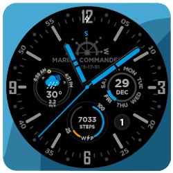 Marine Commander Watch face