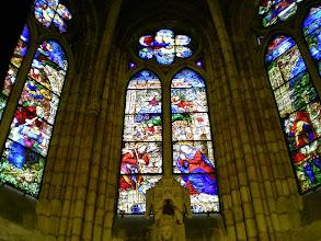 Photo: Etapa 18 a. Vitralls catedral. Segle XIII / XIV. León