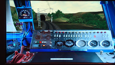 Photo: Simulador ferroviario.