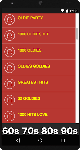Oldies 60s 70s 80s 90s Radios. Retro Radios Free 2.4 screenshots 2