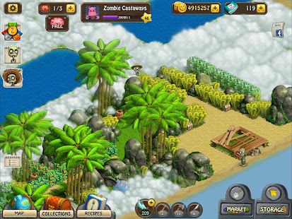 Zombie Castaways Secret Island Maps