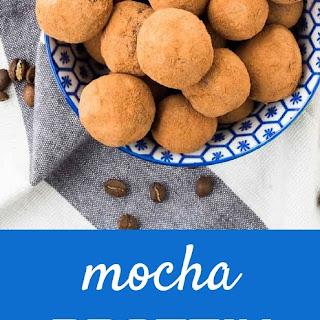 Chocolate Protein Balls (with mocha option!).