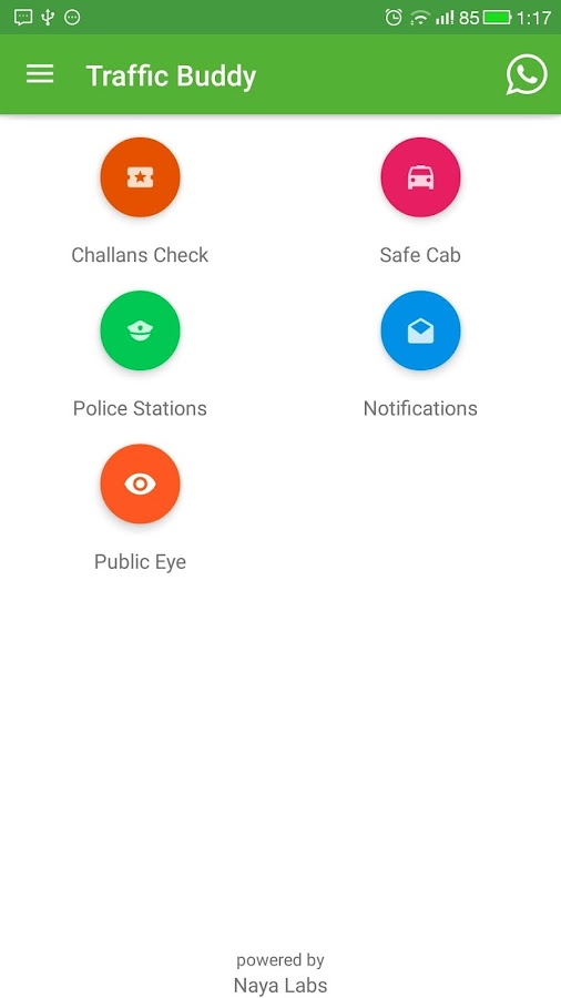 Traffic Buddy : Hyd-Cyberabad- screenshot