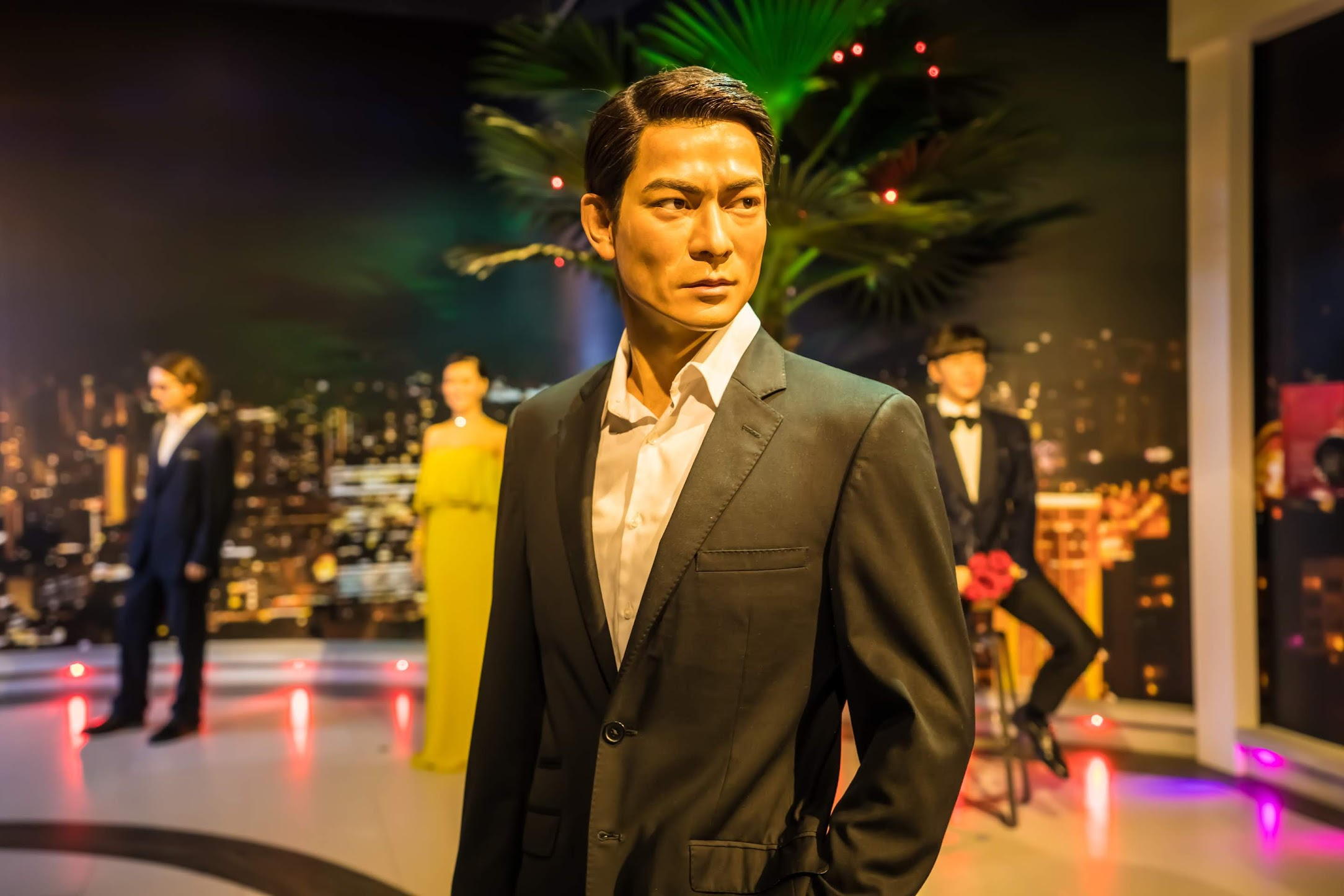 Singapore Sentosa Island Madame Tussauds Singapore Andy Lau