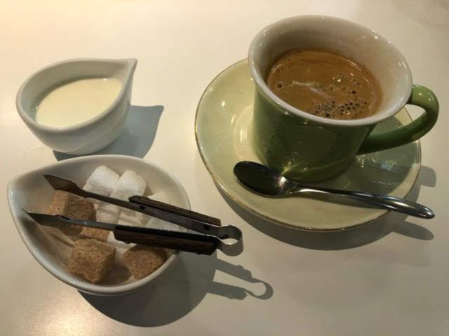 セピアカフェのコーヒー