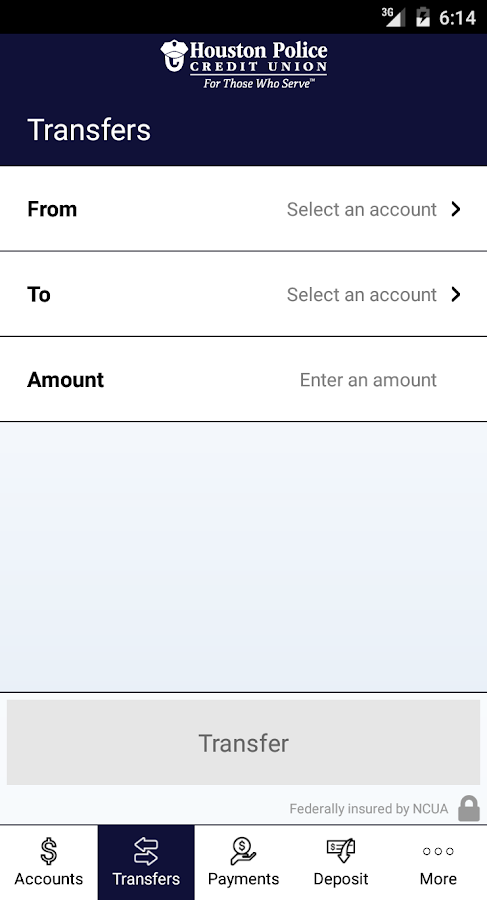 HPCU Mobile Banking- screenshot