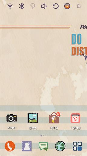 DO NOT DISTURB Launcher Theme