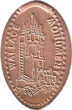 Photo: Wallace Monument penny