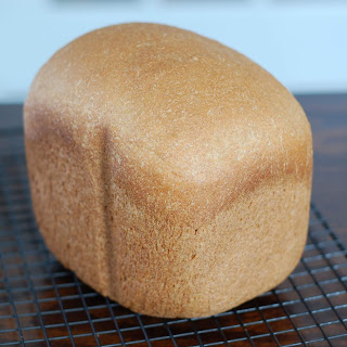 Honey Whole-Wheat Sandwich Bread (for bread machine).