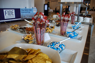 Photo: Afternoon snacks at Tivoli Congress Center