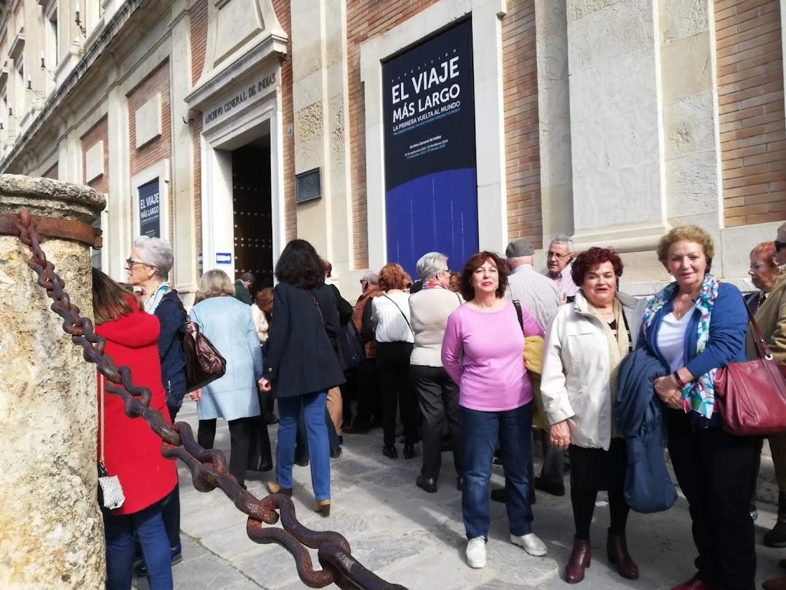 Visita a la exposición sobre Magallanes (febrero de 2020)