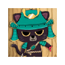 Samurai-Cat Spinner
