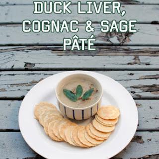 Duck Liver, Cognac and Sage PâTé Recipe