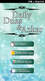 Daily Duas & Azkar - náhled