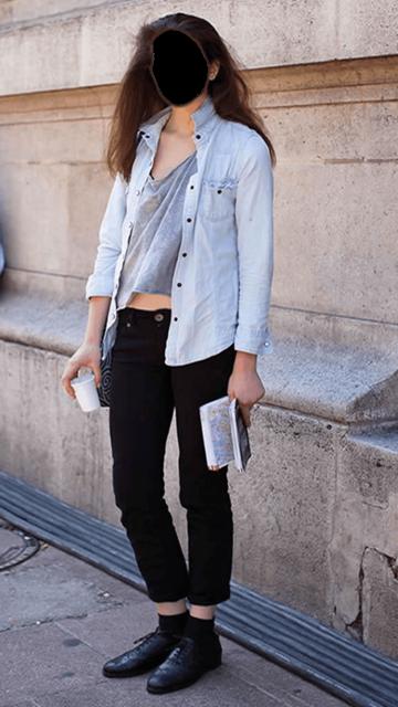 Скриншот Ladies Jeans Photo Editor