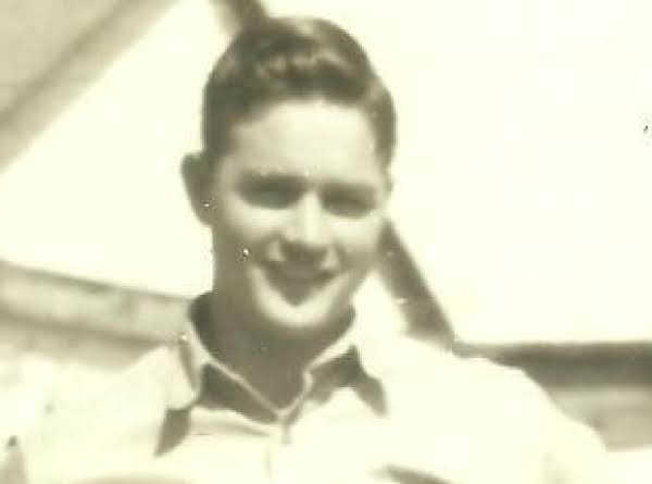 Ivan Sure Looks Good In Uniform.  He Served In The Army As A Cook.  This Was Taken In 1945.