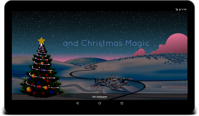 android Winter Live Wallpaper Screenshot 10