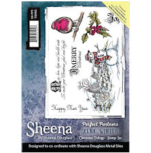 Sheena Douglass Scenic Winter Stamp A5 - Christmas Tidings UTGÅENDE