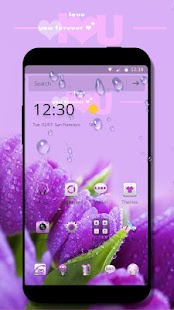 Violet theme - náhled