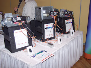 Photo: Sample VAV Boxes available with the Cobra networking system