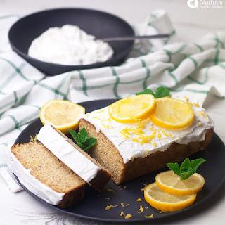 Vegan Gluten-free Lemon Cake.