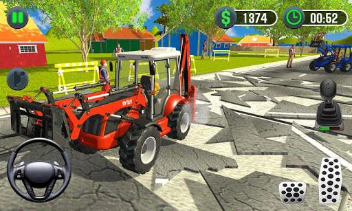Farming Simulator - Big Tractor Farmer Driving 3D 1.0 screenshots 2