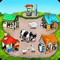Farm Frenzy Free-Time management farm game offline icon