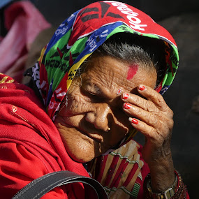 NEPALESE WOMAN by Riccardo Schiavo - People Portraits of Women