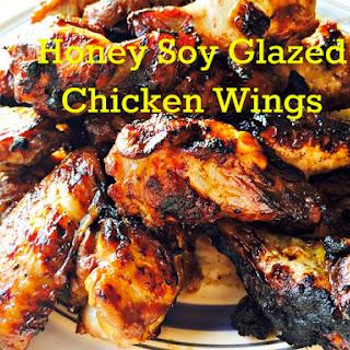 Honey Soy Glazed Chicken Wings