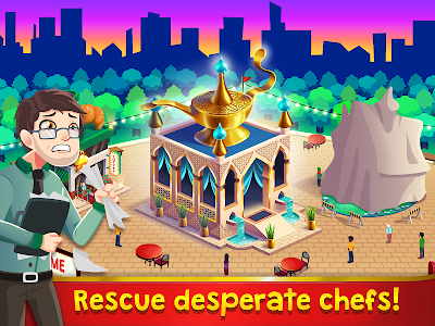 Chef Rescue - The Cooking Game v1.3.1 Mod Money + Ads Free