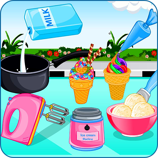 Cooking ice cream and gelato (game)