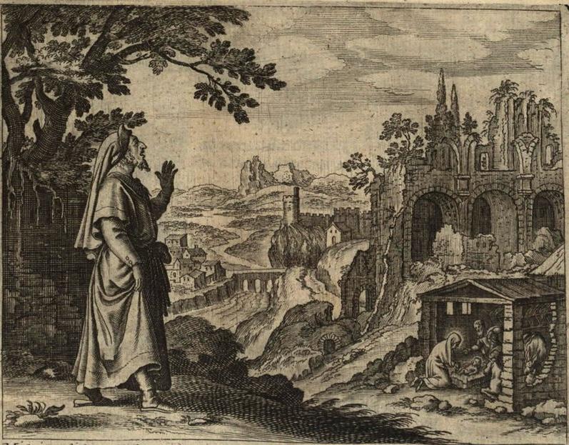 Micah Foretells the Birth of Christ (Gerard Jillian, 1670)