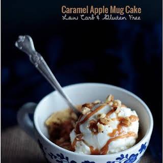 Caramel Apple Mug Cake – Low Carb & Gluten Free.