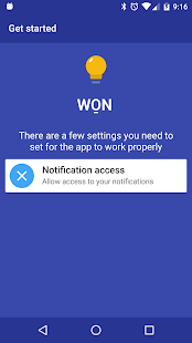 WON - Wake On Notification- screenshot thumbnail
