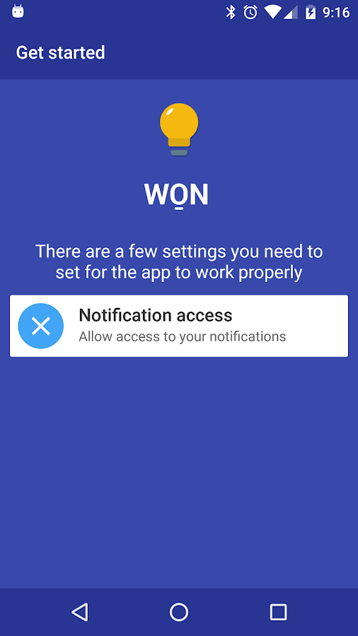 WON - Wake On Notification- screenshot