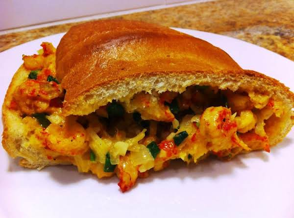 Authentic New Orleans Jazz Fest Crawfish Bread