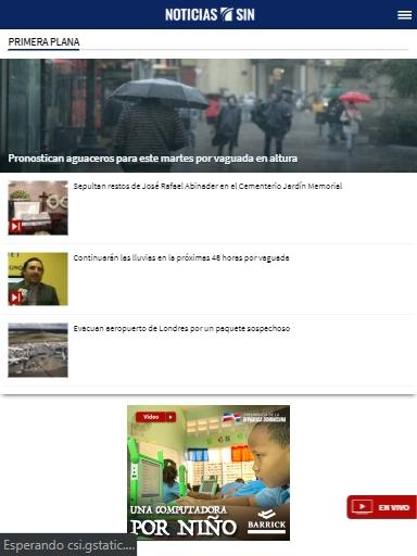 Noticias SIN screenshots 3