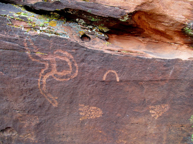Warner Ridge petroglyphs