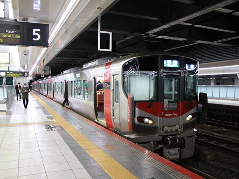 JR西日本 227系「Red Wing」 広島駅にて_01
