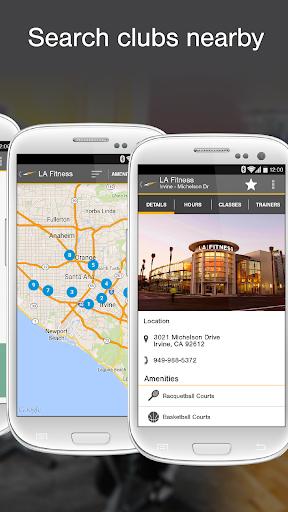 LA Fitness Mobile Screenshot