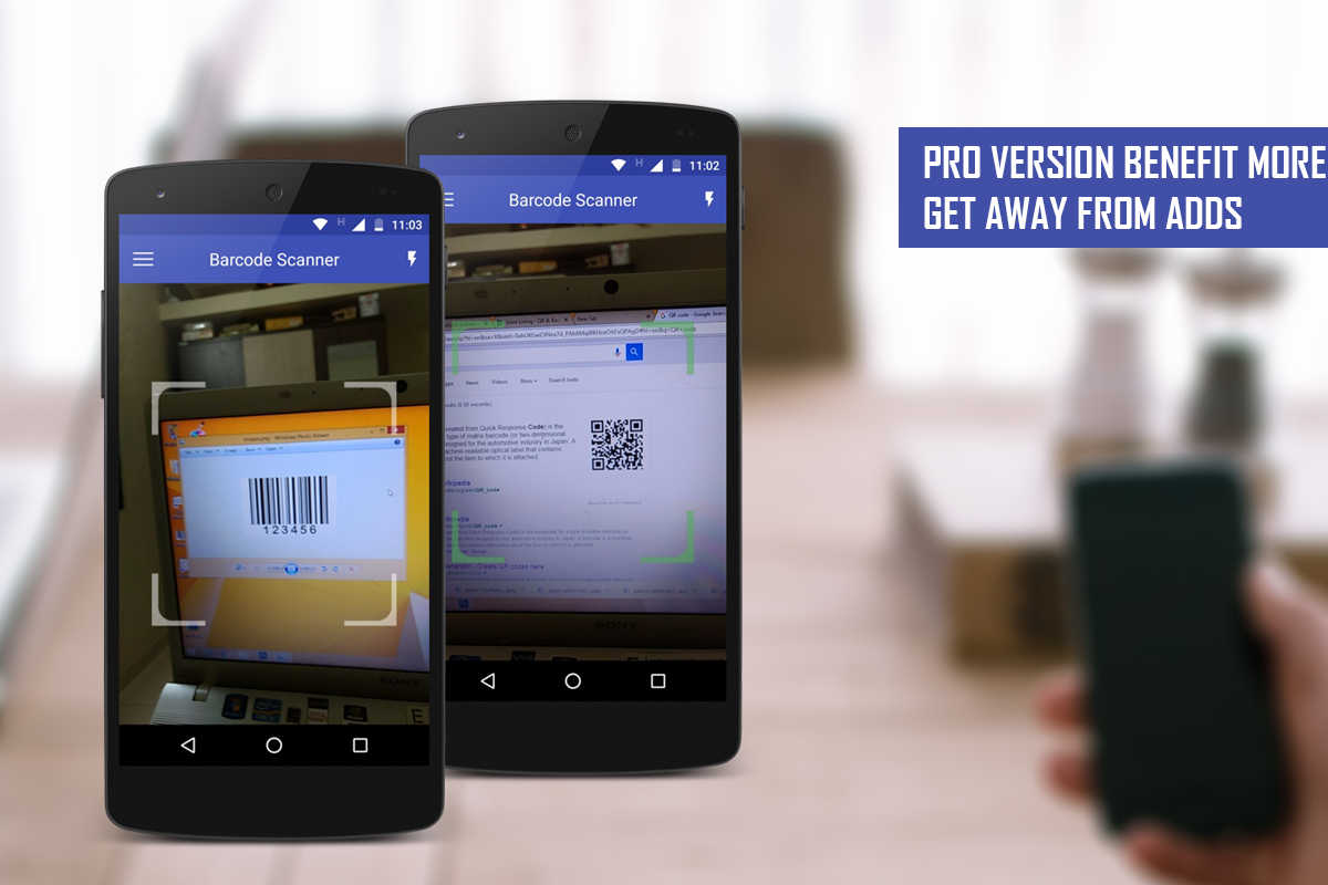 QR & Barcode Scanner Pro- screenshot