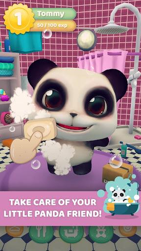 talking panda game online
